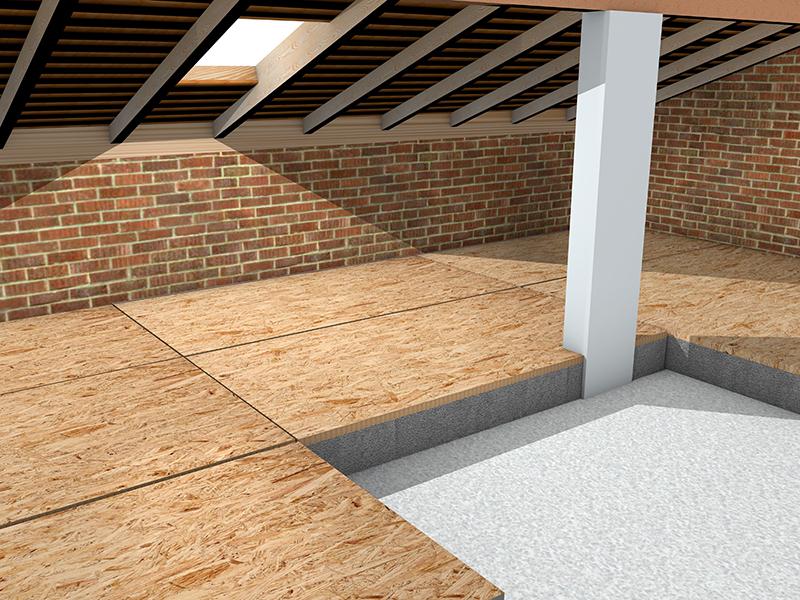 Isolamento termico terrazzo calpestabile for Guaina calpestabile mapei