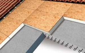 Isolamento tetto a falde con struttura in calcestruzzo
