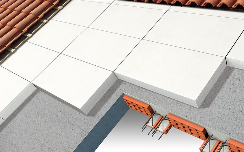Eco espanso r pannelli per copertura tetto for Tettoia inclinata del tetto