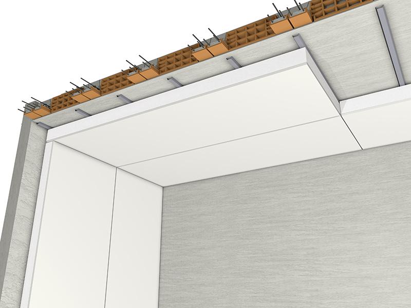 Eco gips c isolamento termico soffitto dall 39 interno - Isolamento termico soffitto interno ...