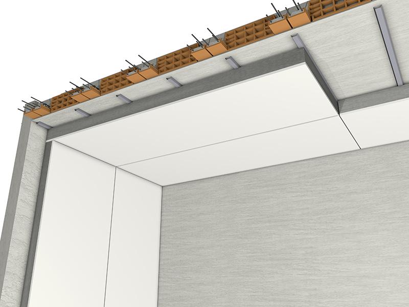 Eco gips c isolamento termico soffitto dall interno