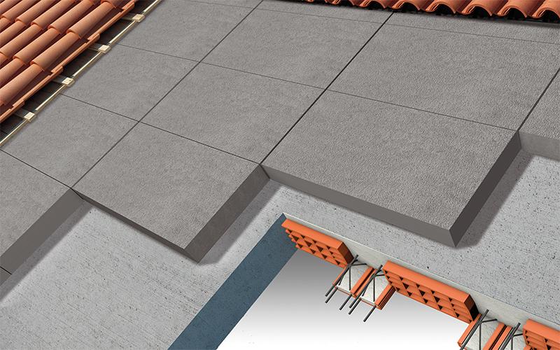 Isolamento termico copertura con tetto a falda inclinata