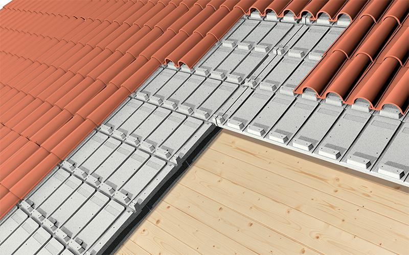 Pannello Solare Termico Voce Capitolato : Isolroof tegole pannelli per isolamento sottotegola