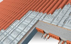 Isolamento per copertura a falda inclinata con struttura in latero-cemento
