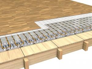 Isolamento del solaio su spazi riscaldati con struttura in legno