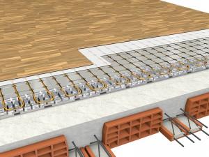 Isolamento del solaio su spazi riscaldati con struttura in latero-cemento