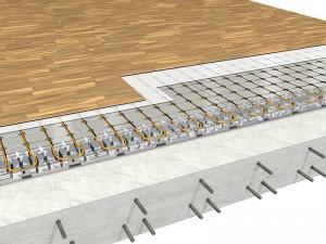 Isolamento del solaio su spazi riscaldati con struttura in calcestruzzo