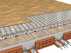 Isolamento del solaio su pavimentazione esistente