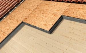 Isolamento e ventilazione tetto con struttura in legno