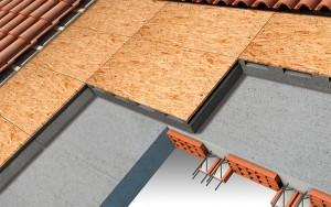 isolamento tetto ventilato in laterocemento con pannelli polistirolo osb