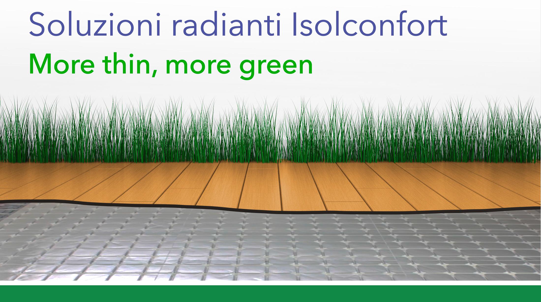 Ottimizzare Riscaldamento A Pavimento soluzioni radianti a pavimento e soffitto | isolconfort