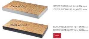 pannelli isolanti copertura tetto in polistirene e osb