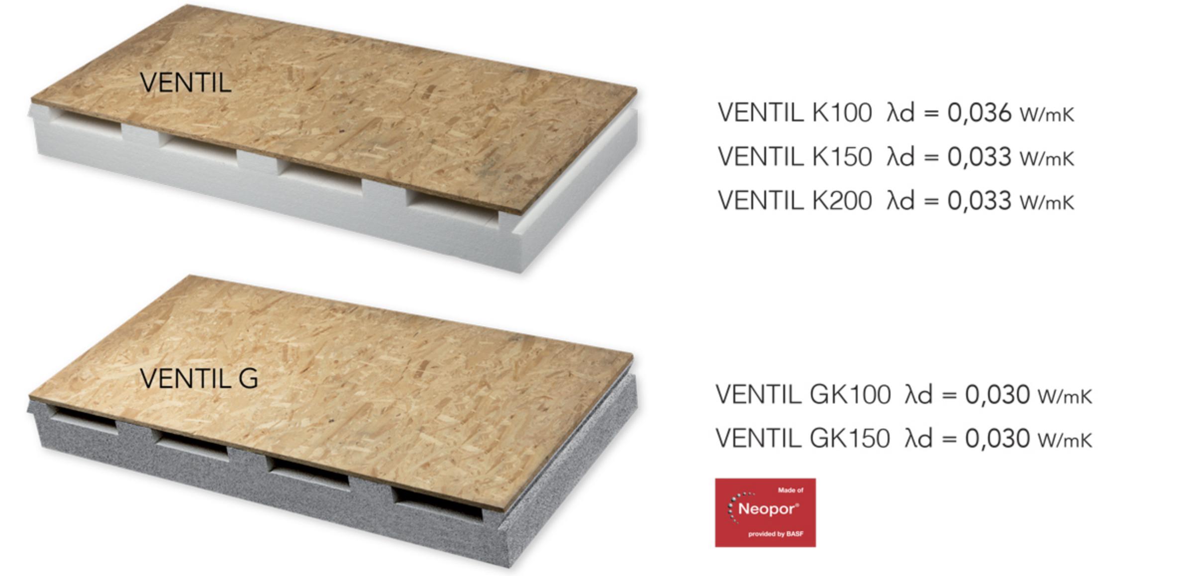 pannelli isolanti per copertura tetto ventilato