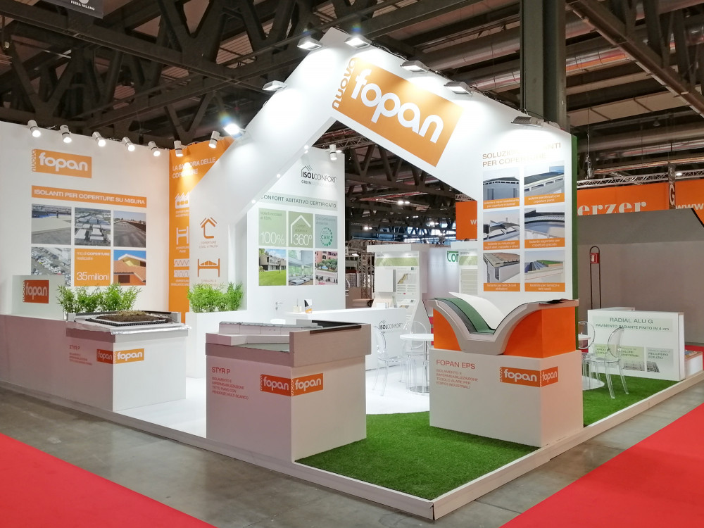 stand isolconfort fopan fiera made expo 2019-2